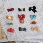Vintage Seam Binding Hair Bows