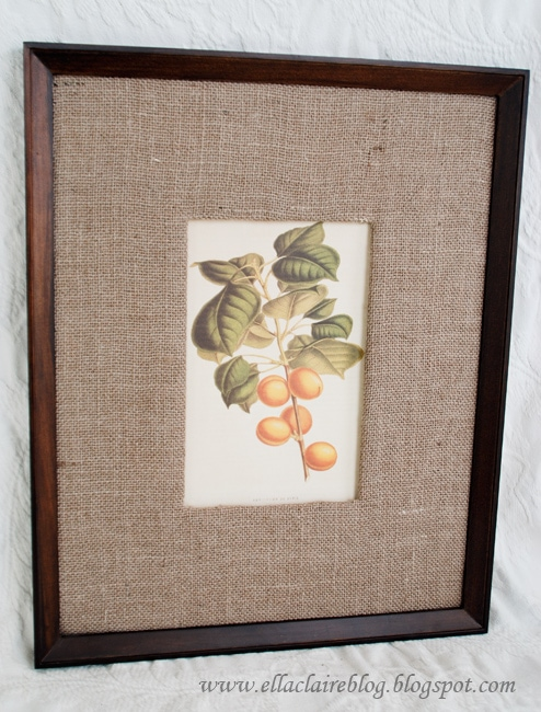 A Knock Off Pottery Barn Frame and Mat - Ella Claire