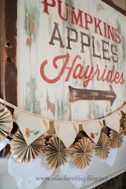 6 DIY Autumn Decorations Under $6!Ella Claire