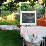 Ella's First Birthday Party~ Shabby Chic Garden Party