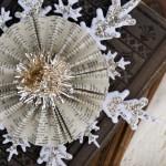 Handmade Vintage Snowflake Ornament