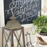 My Valentine Chalkboard