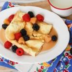 My German Pancake Recipe {Healthier Version}