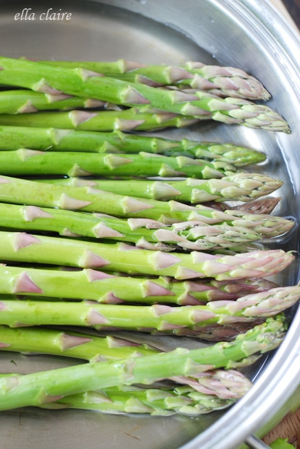 how to cook asparagus without butter