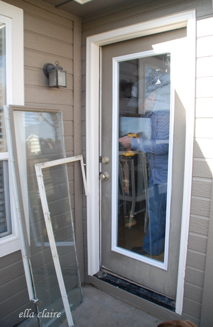 Quick Easy Diy Fix For A Badly Broken Exterior Door