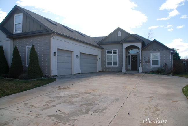 my home exterior reveal how to choose exterior paint colors ella. Black Bedroom Furniture Sets. Home Design Ideas