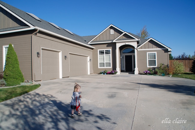 My Home Exterior Reveal Amp How To Choose Exterior Paint Colors Ella Claire