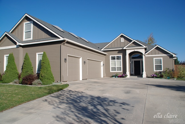 My Home Exterior Reveal Amp How To Choose Exterior Paint
