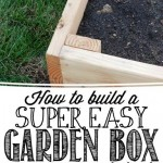 How to Build the Easiest Garden Box!