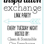 GIVEAWAY, Our Fabulous New Link Party~ Inspiration Exchange #1