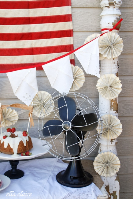 Vintage 4th Of July Party Decor Ideas Ella Claire