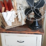 Ella's Nightstand- Before and After