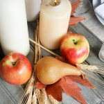 Autumn Tablescape and Seasons of Home: Autumn Edition