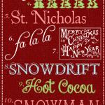 Fabulous Free Festive Christmas Fonts