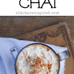 Low Calorie Decadent Pumpkin Chai, Progressive Dinner, and GIVEAWAY!