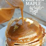 Spiced Pumpkin Maple Syrup