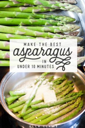 Make the best asparagus in under 10 minutes- a quick, healthy, delicious and tender Asparagus recipe that anyone can make.