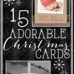 15 Adorable Christmas Cards~ So Lovely