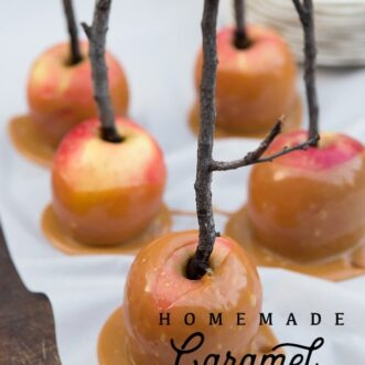 Homemade Caramel Apple Tips and Tricks