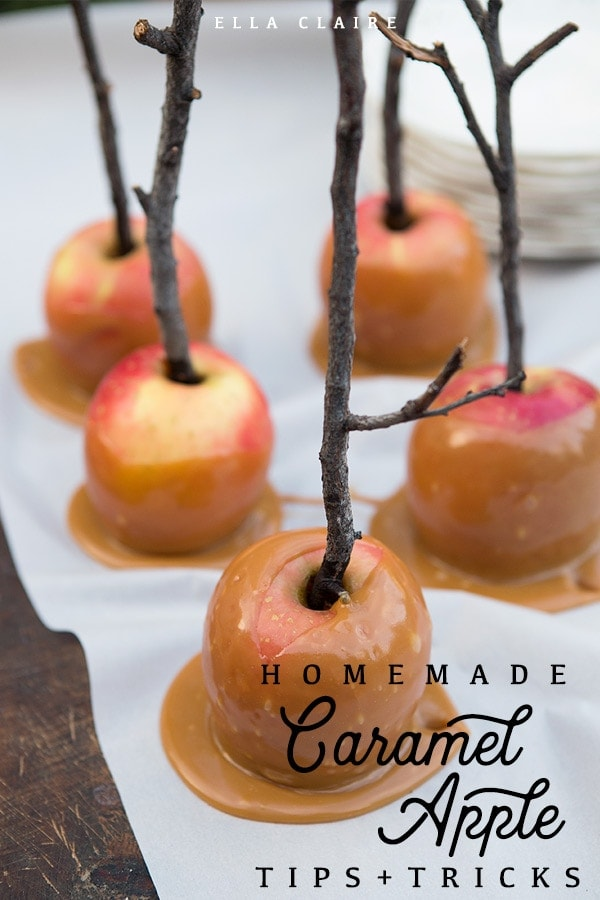 Tips and tricks to make the best homemade caramel apples this Fall and Halloween season- recipes included
