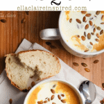 Savory Roasted Pumpkin and Vegetable Bisque