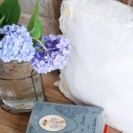 A Little Handmade Pillow with Vintage Notions and Linens