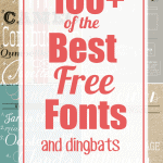 100+ of the Best Free Fonts
