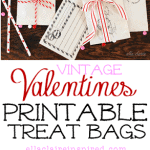Free Printable Valentine Envelopes/ Treat Bags