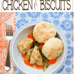 The Very Best Crock Pot Chicken and Biscuits