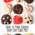 How to Make Cookies from Any Cake Mix!