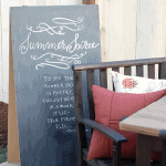 DIY Hinged Chalkboard Tutorial
