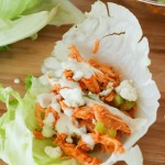 Chinese Chicken Salad Lettuce Wraps | Homemade Asian Dressing
