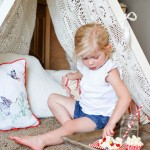 Vintage Tent | Movie Night Popcorn Crispy Treats