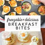 3 Freezable Breakfast Bites | Busy Morning Prep!
