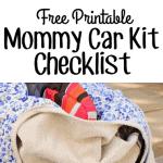 Creating a Car Kit | Free Printable Checklist