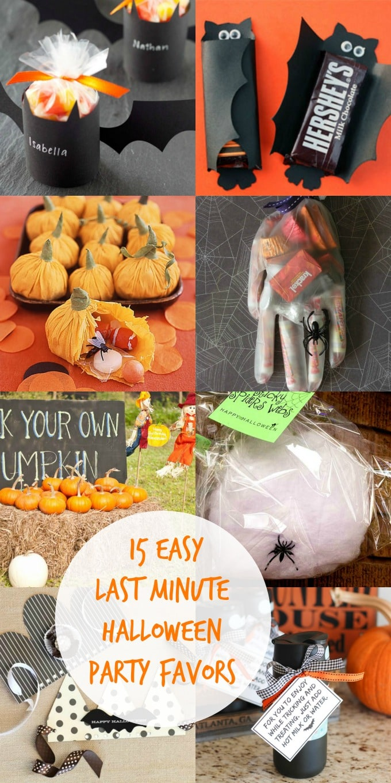 15 easy last minute halloween party favor ideas for Last minute party ideas