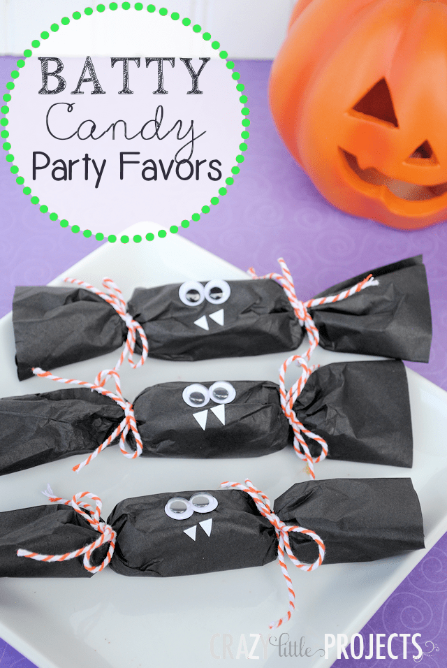 Batty Candy Halloween Party Favors