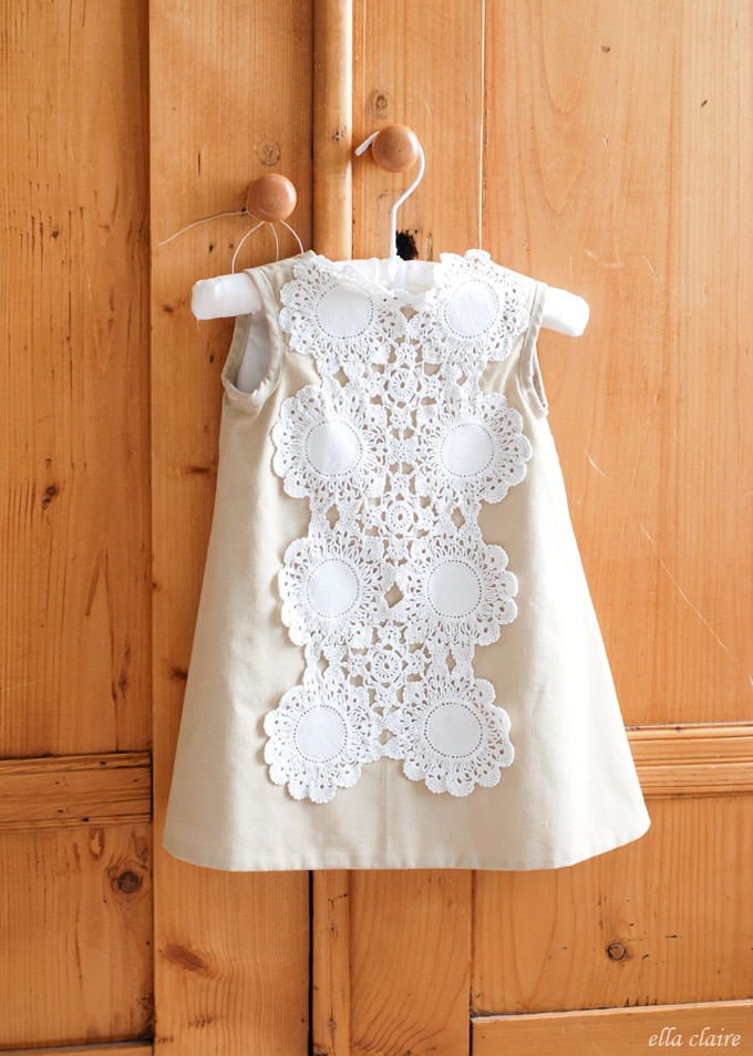 Handmade Vintage Doily Dress