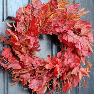 Semi DIY Autumn wreath