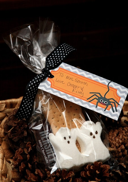 Halloween Smore's Treat Bags