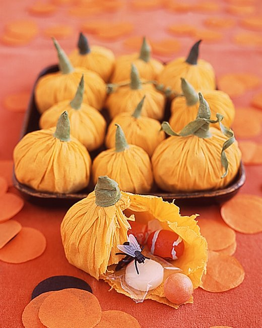 easy pumpkin treat pouches