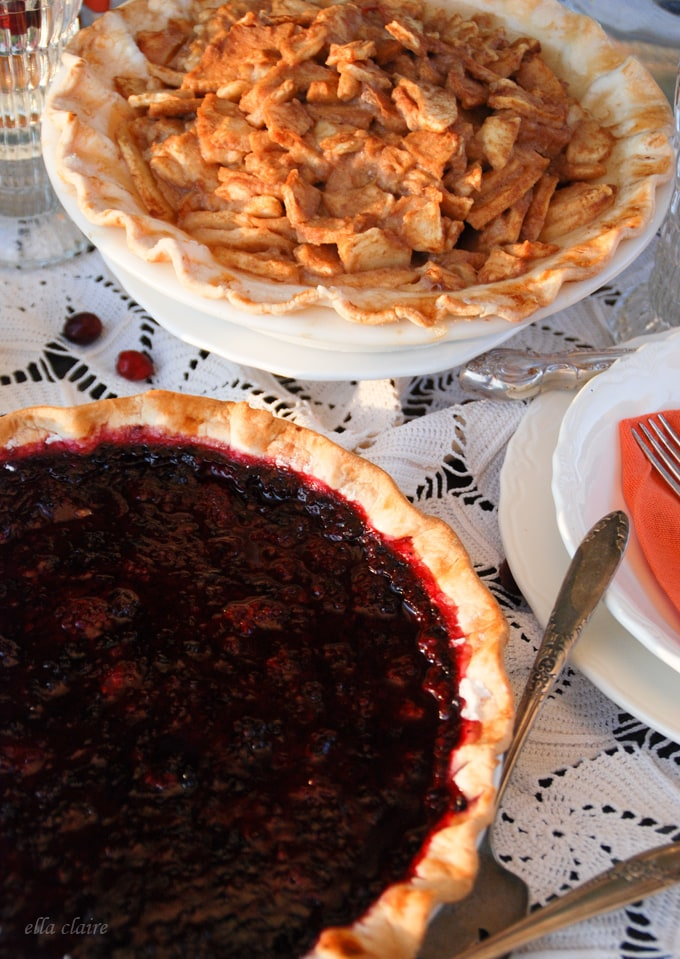 Lovely pies are the epitome of Fall!