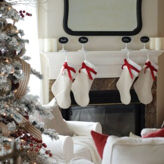 New Sofas and Christmas Decor | Family Room