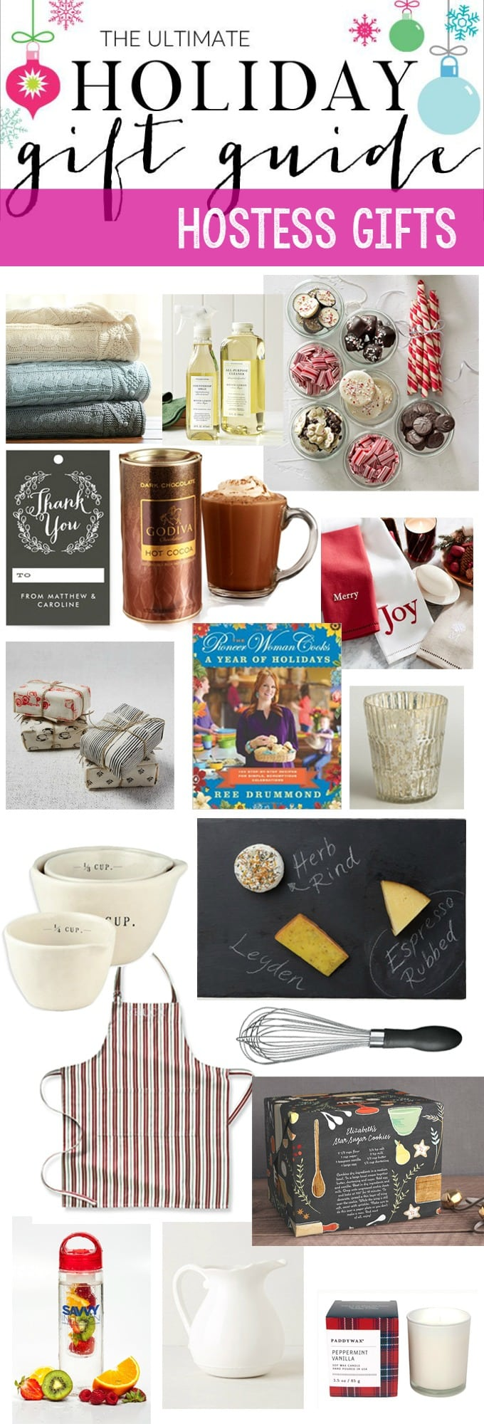 Holiday gift guide and giveaway hostess gifts Hostess gift