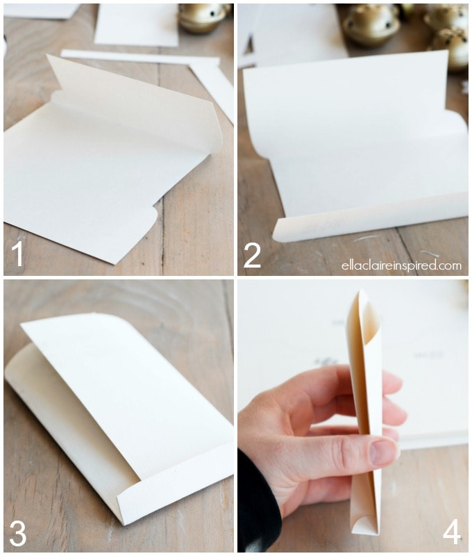 Free printable envelope How-to steps