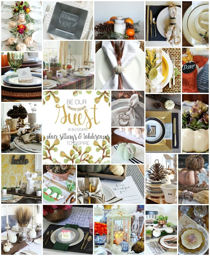 Some of the most gorgeous Autumn Tablescapes on the web!