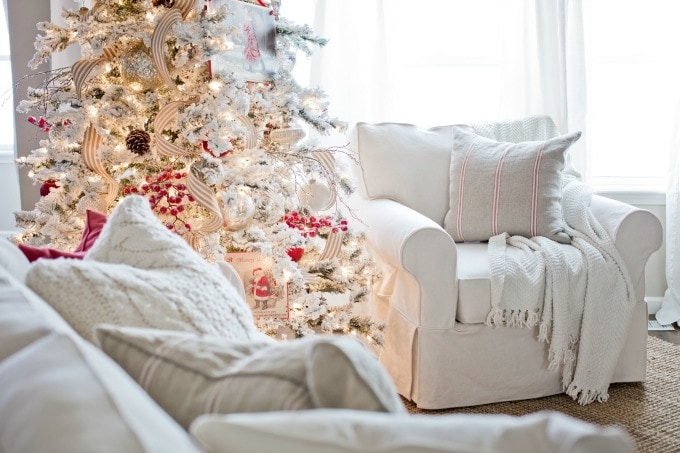 My Christmas Home Tour | The Holiday Housewalk - Ella Claire