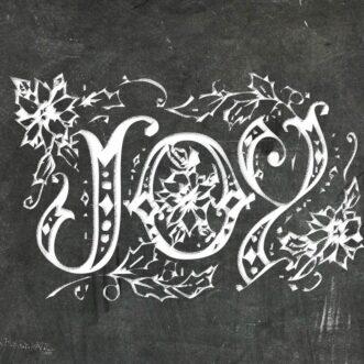 Joy Peace Noel | Free Chalkboard Printables