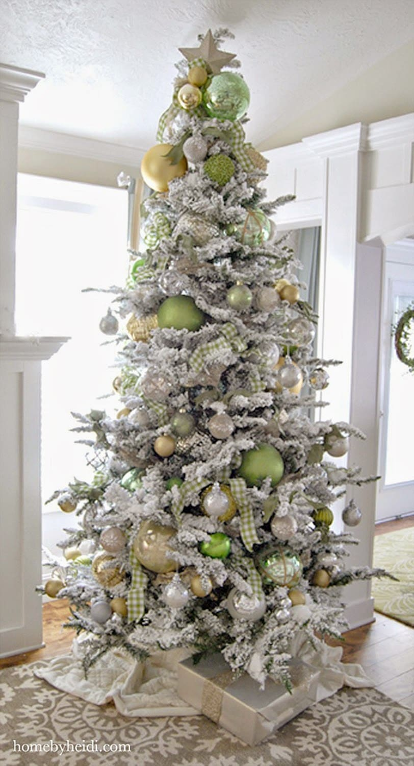 home by heidi - Order Of Decorating A Christmas Tree