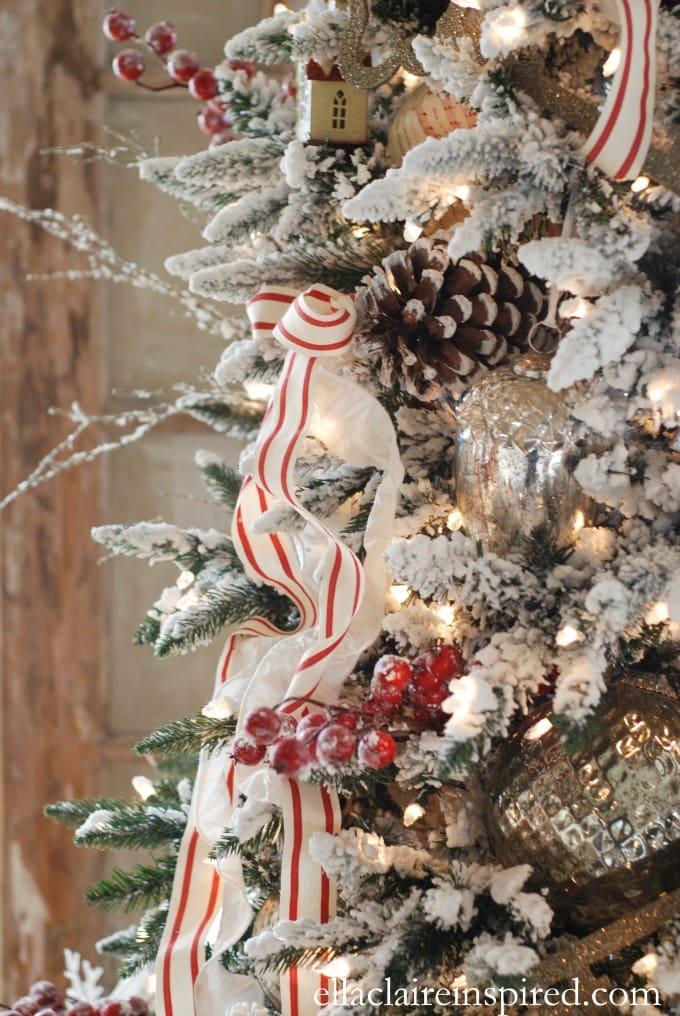 10 Tips for Beautiful Christmas Tree Ribbon - Ella Claire